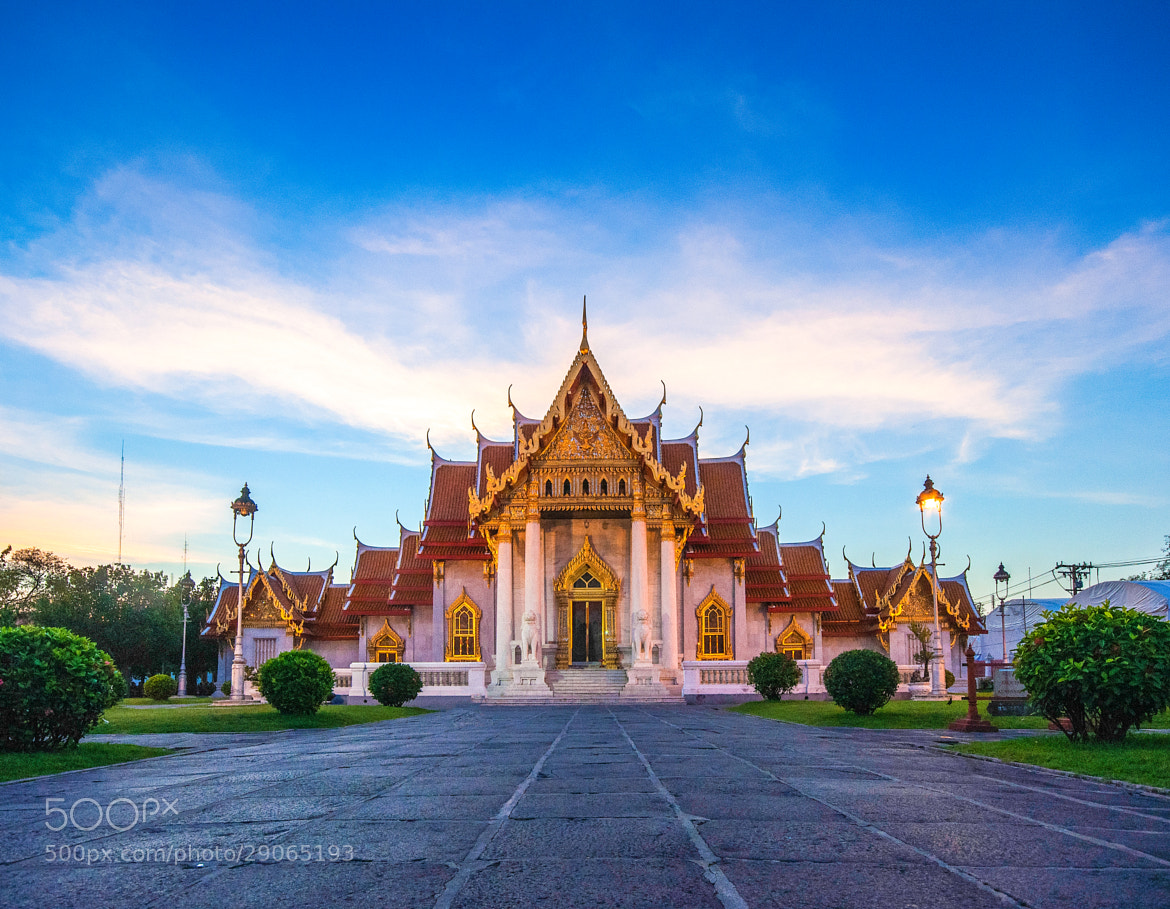 Photograph Marble Temple  by Naphak Modhiran on 500px