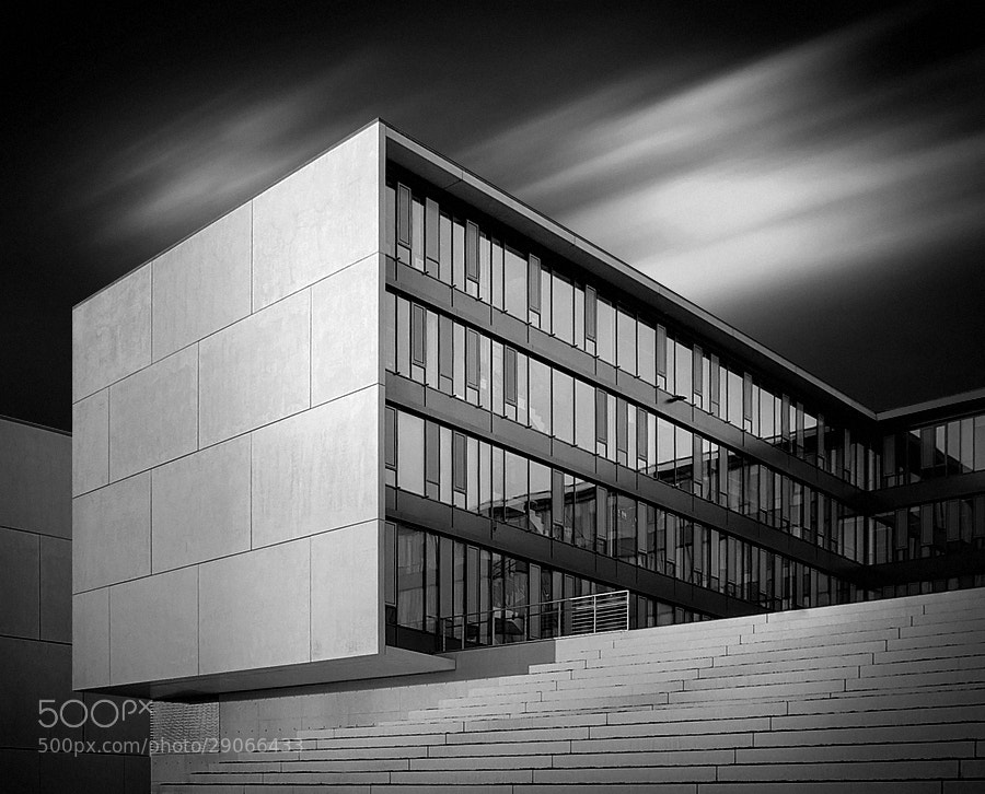 Photograph the cube b&w by Max Ziegler on 500px