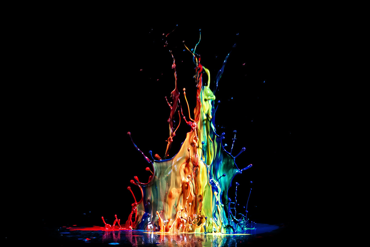 Photograph Wall of Colors by Markus Reugels on 500px