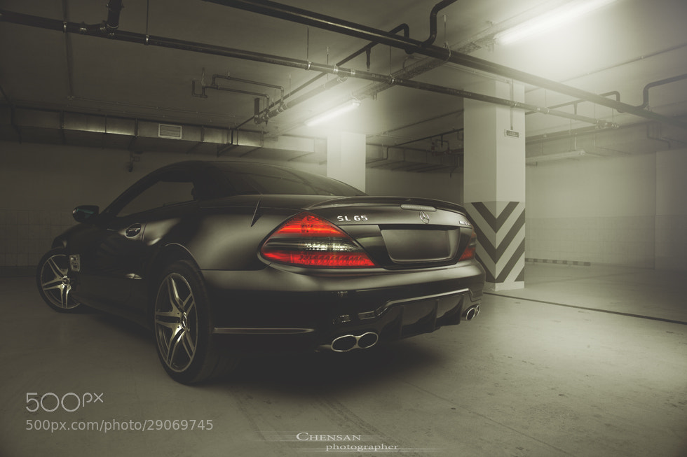 Photograph Mercedes-Benz SL65 AMG . by Chensan by  Chensan on 500px