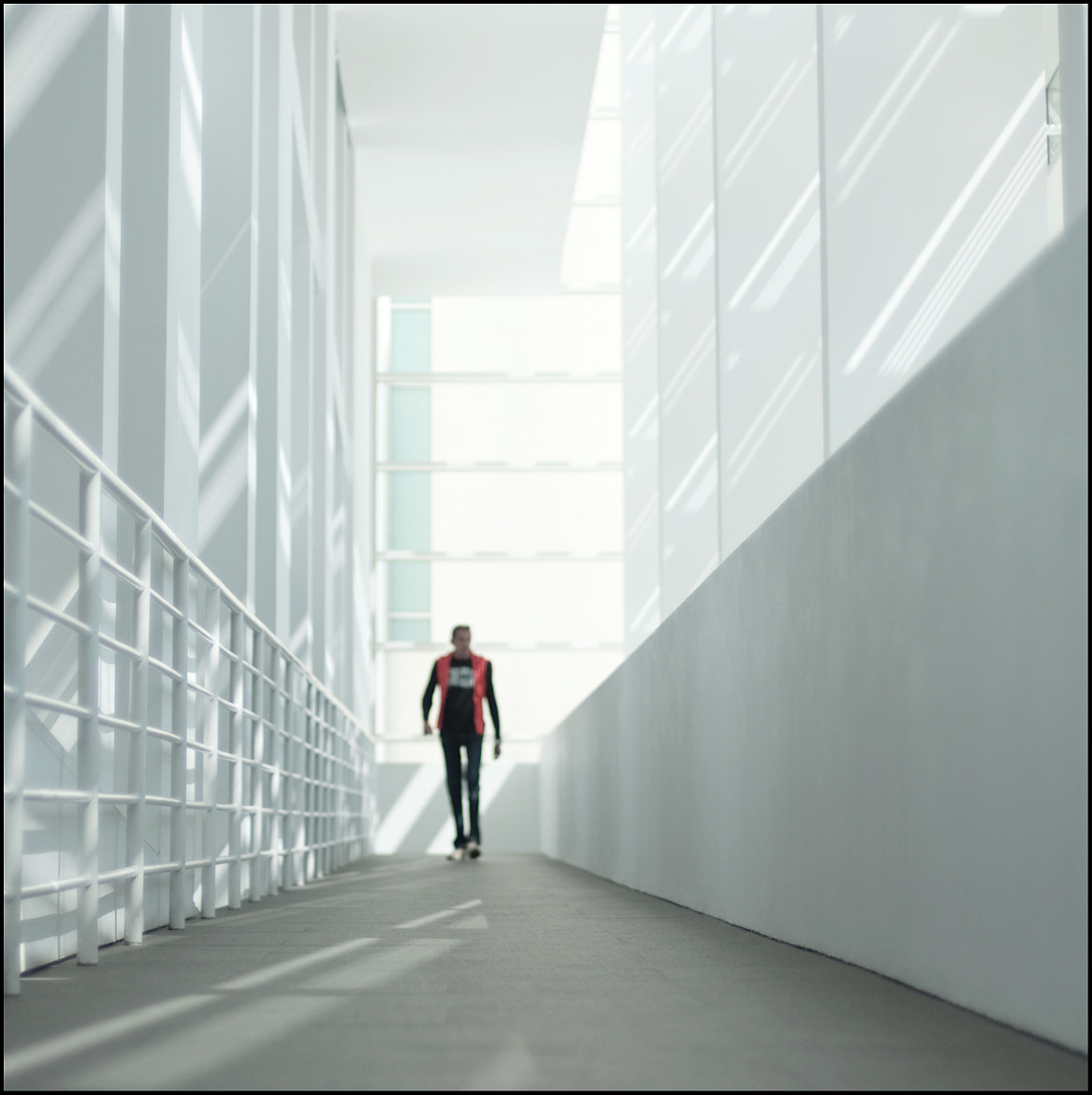 Photograph Stranger at Macba by andr3u on 500px