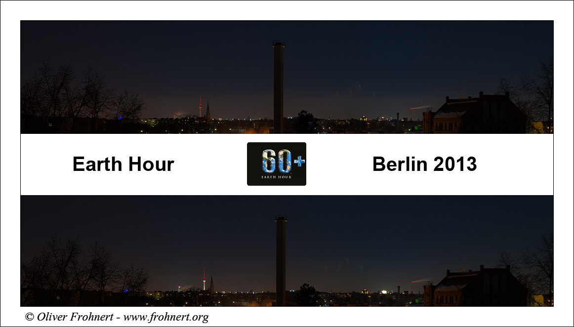 Photograph Earth Hour by Oliver Frohnert on 500px