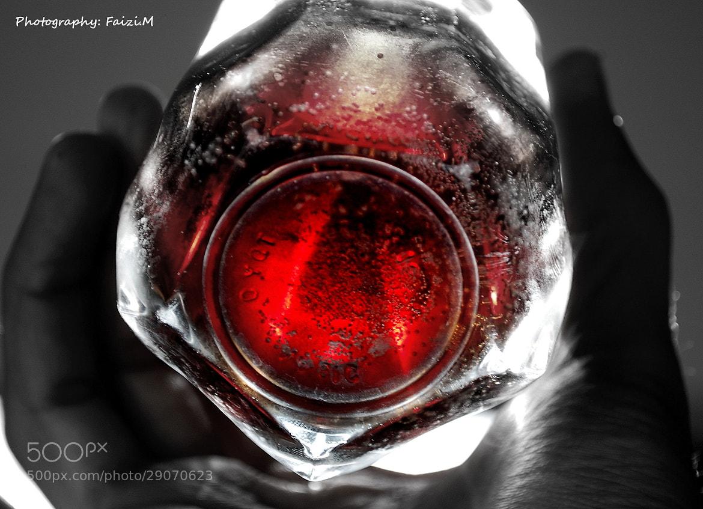 Photograph Glass oc Coke in Sun by Faizan Mubasher on 500px