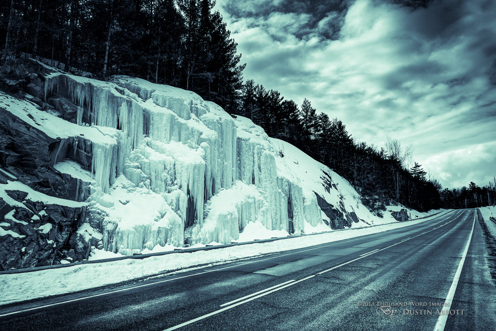 Photograph IceFall by Dustin Abbott on 500px