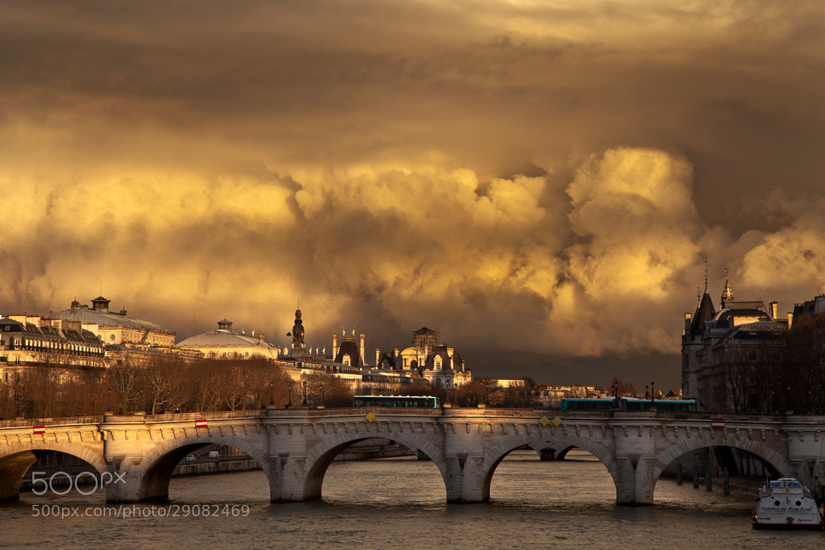 Photograph Un pont nuageux by julien galard on 500px