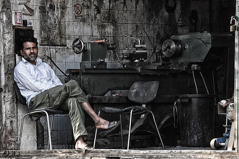 Photograph Waiting for work by Abduleelah Al-manea on 500px