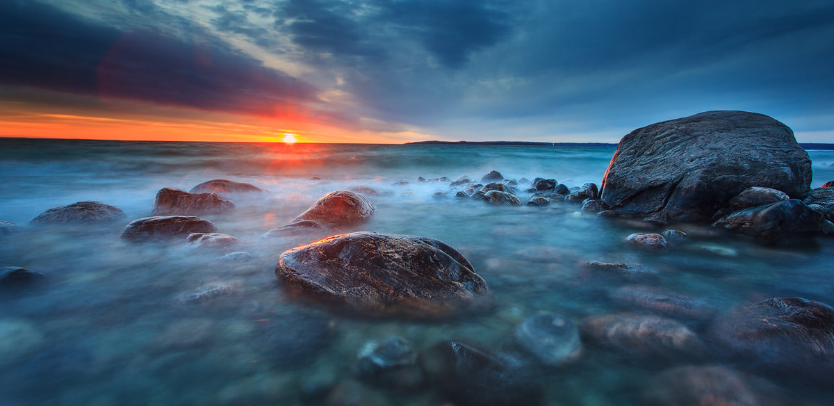 Photograph The Rocks of Georgian Bay by Celso Mollo on 500px