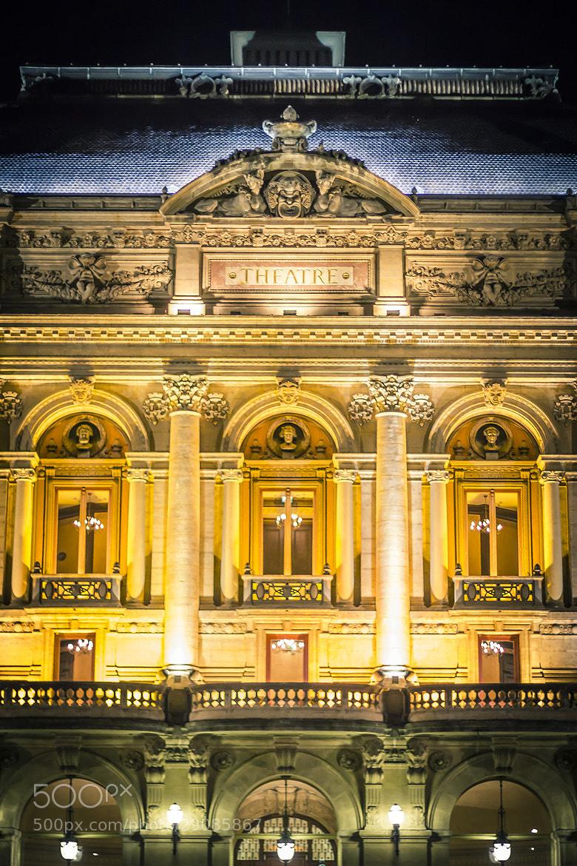 Photograph Théatre des Célestins - Lyon by Julien Cauvin on 500px