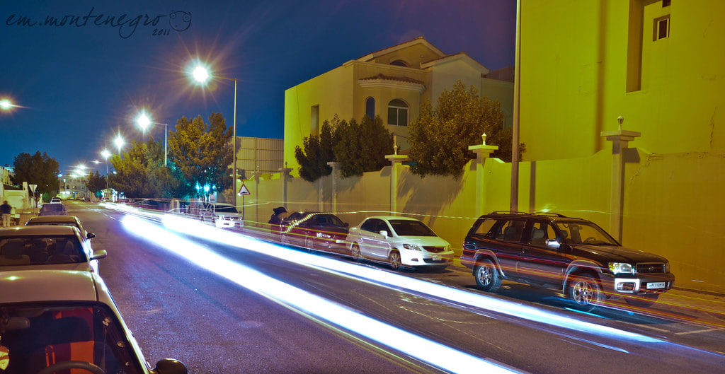 Photograph Speed Light in Qatar by EM Montenegro on 500px