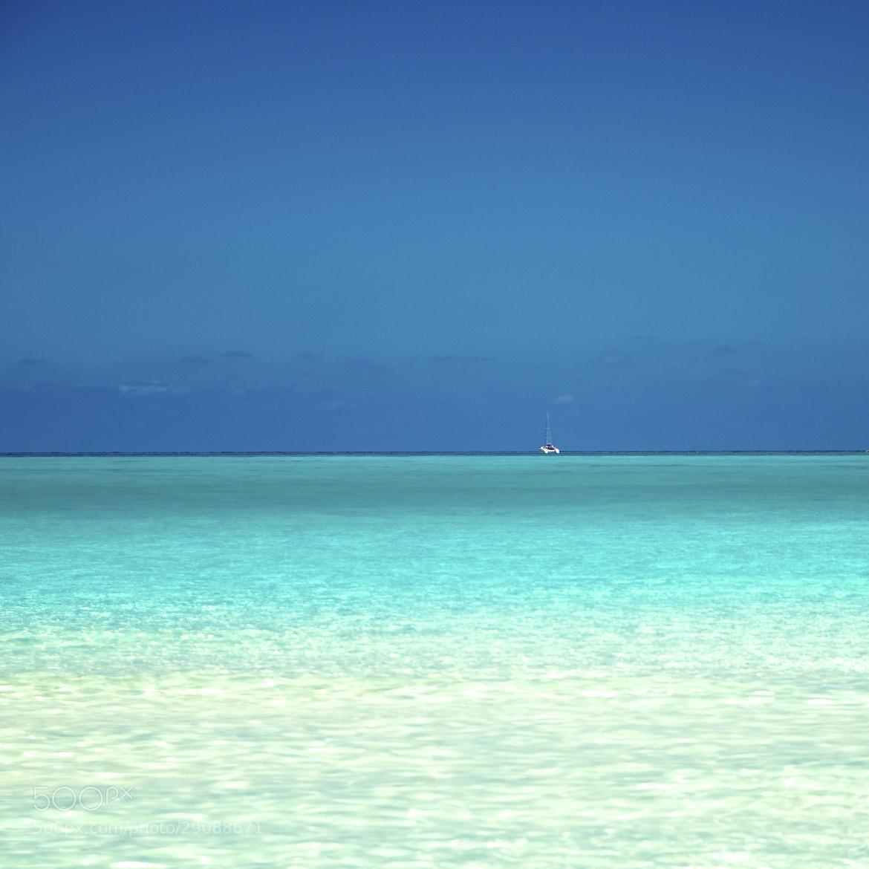 Photograph blue escape... by Agnes Sergiel on 500px