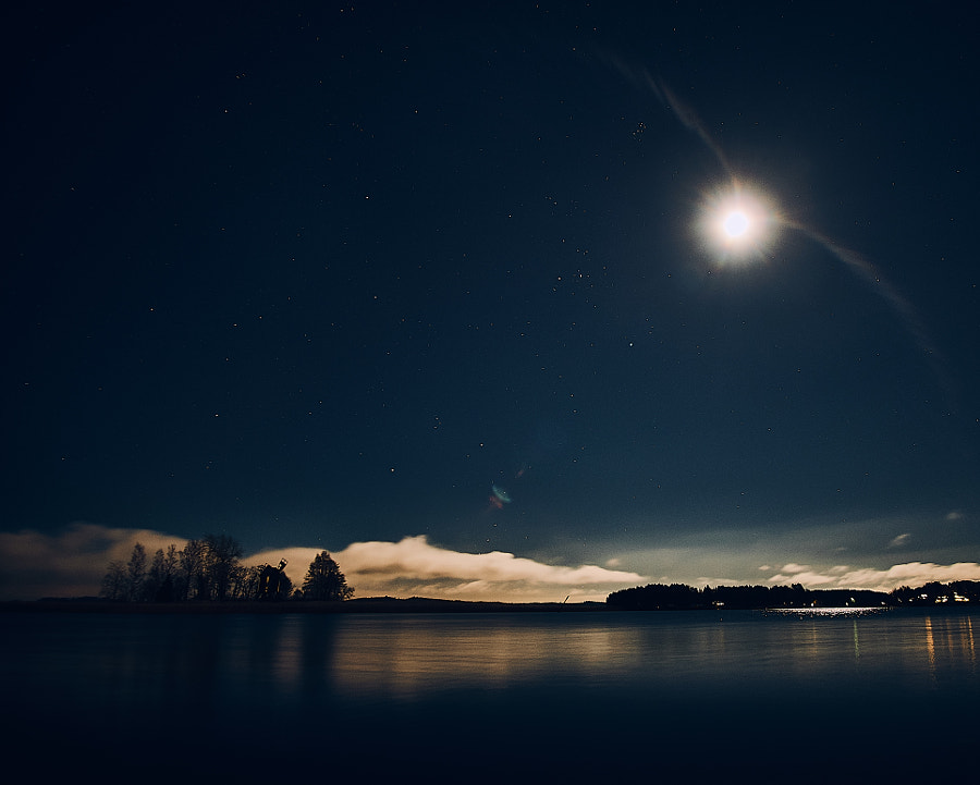 moon has wings by Jere Ketola on 500px.com