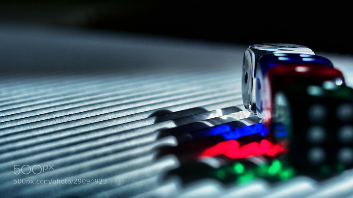 Photograph Rainbow dices by Eikaetschja  on 500px