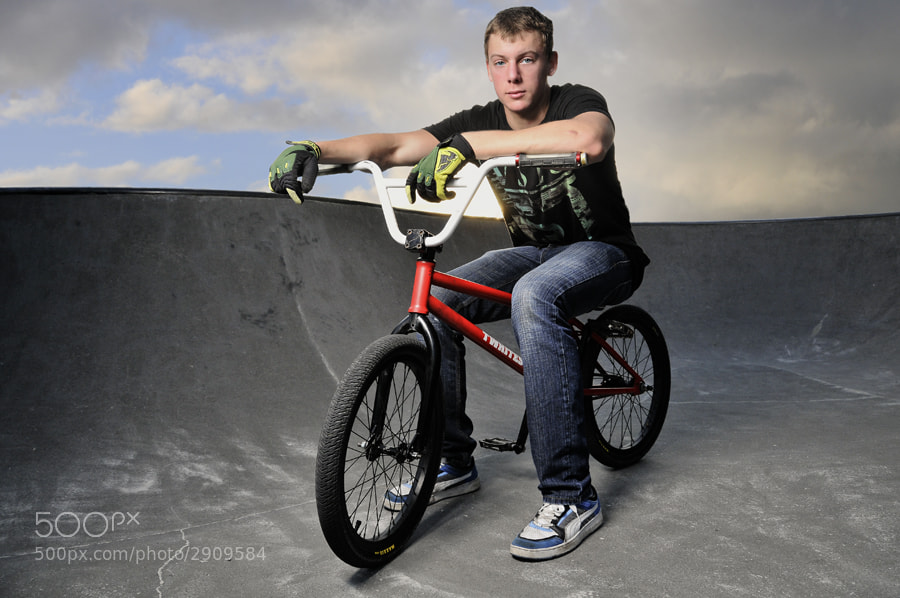 Photograph Local BMX Rider by XAVIER WALLACH on 500px