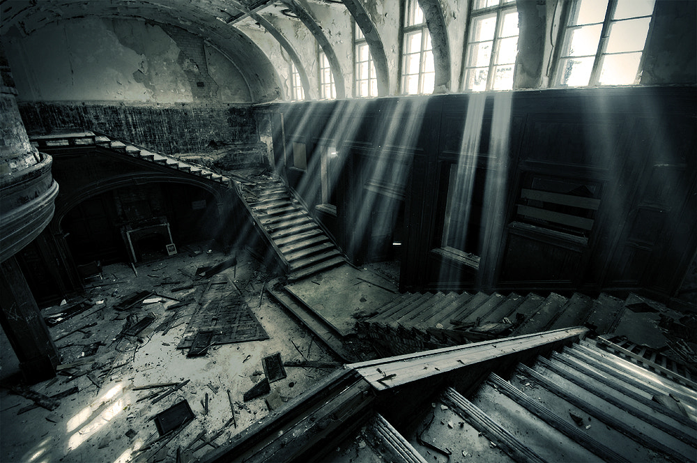 Photograph Abandoned School by Leszek Wasiolka on 500px