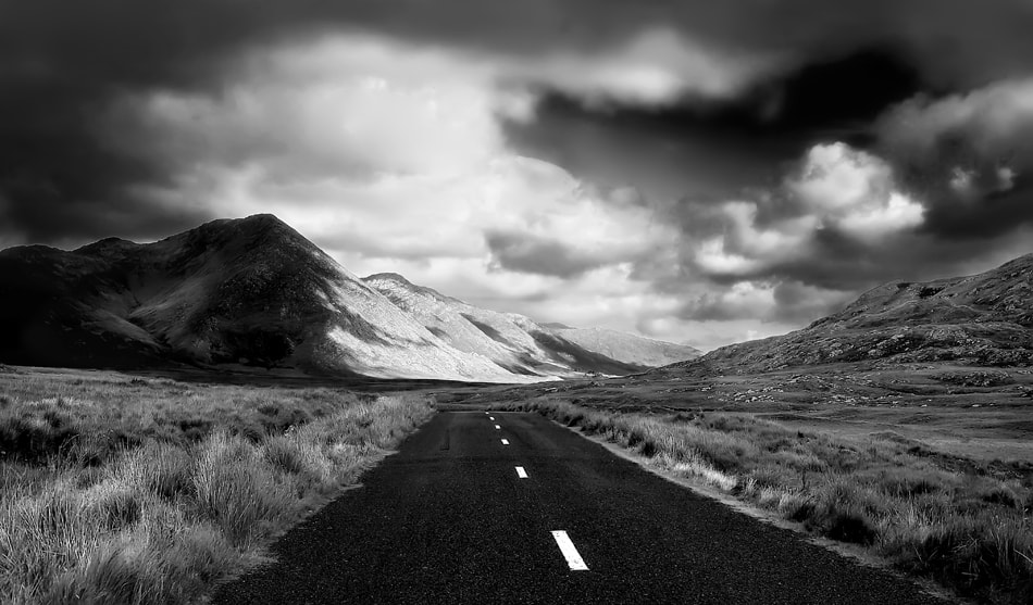 Photograph the road by Andrea Auf dem Brinke on 500px