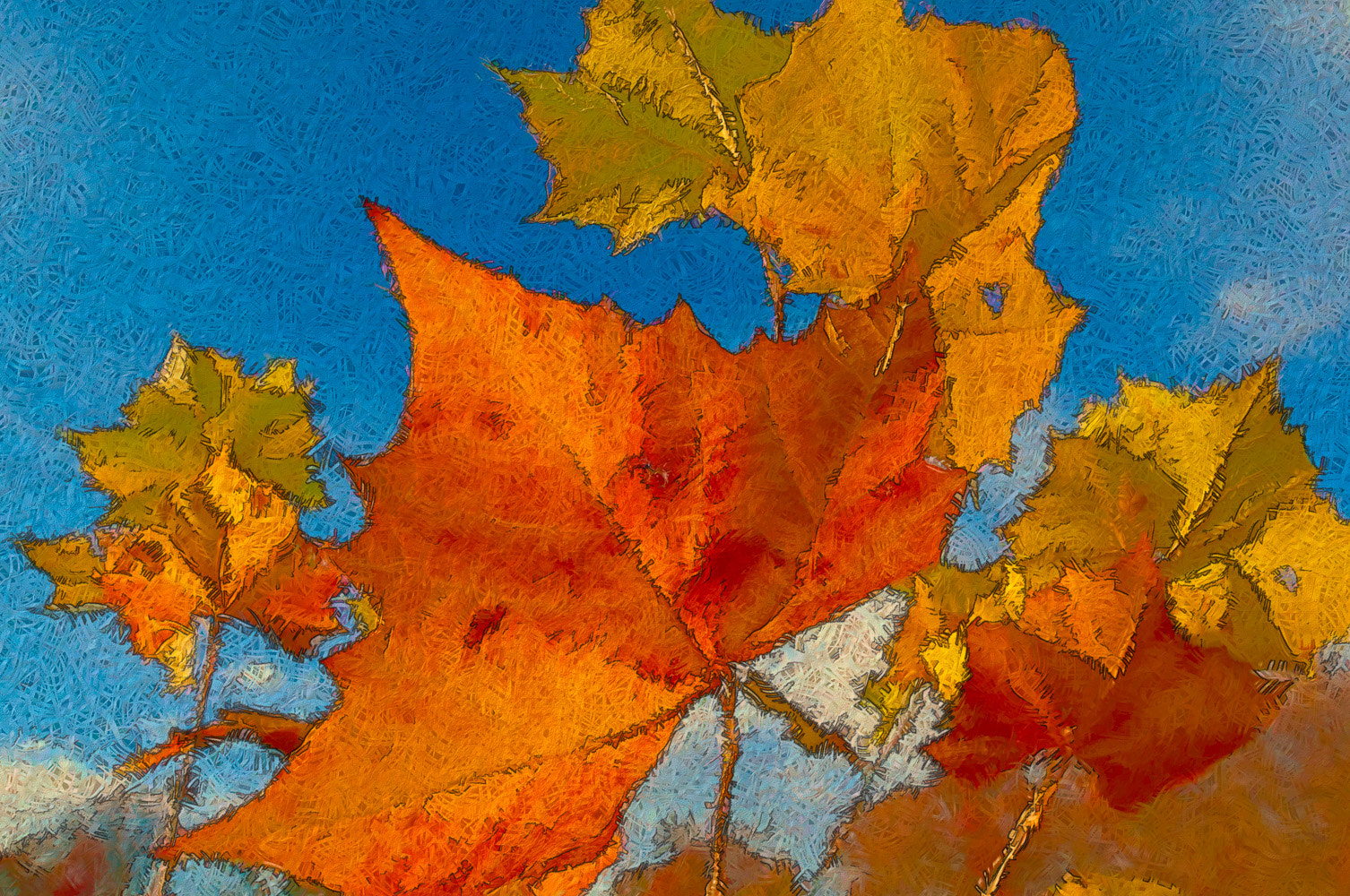 Photograph Colors of Autumn by Debra Keller on 500px