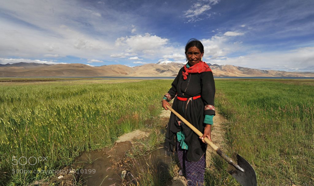 Photograph woman from Ladakh by Karel Hajek on 500px