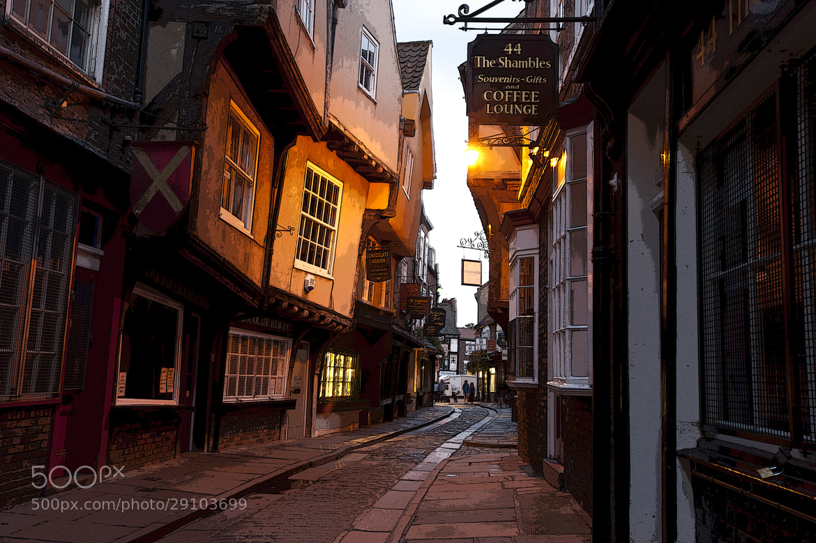 Photograph The Shambles, York by Cheng Brandon on 500px