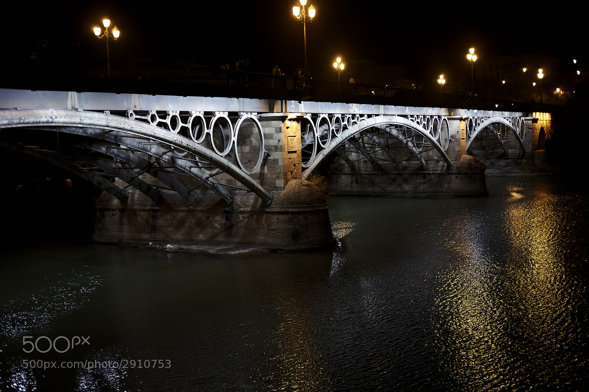 Photograph Puente de Triana by Juan Carlos Rodriguez on 500px