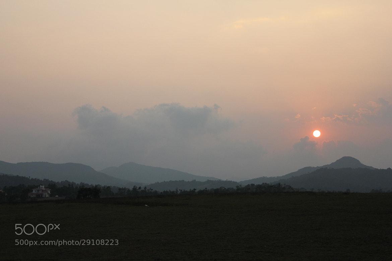 Photograph Sun set at Sakleshpur by Sharath Ravindranath on 500px
