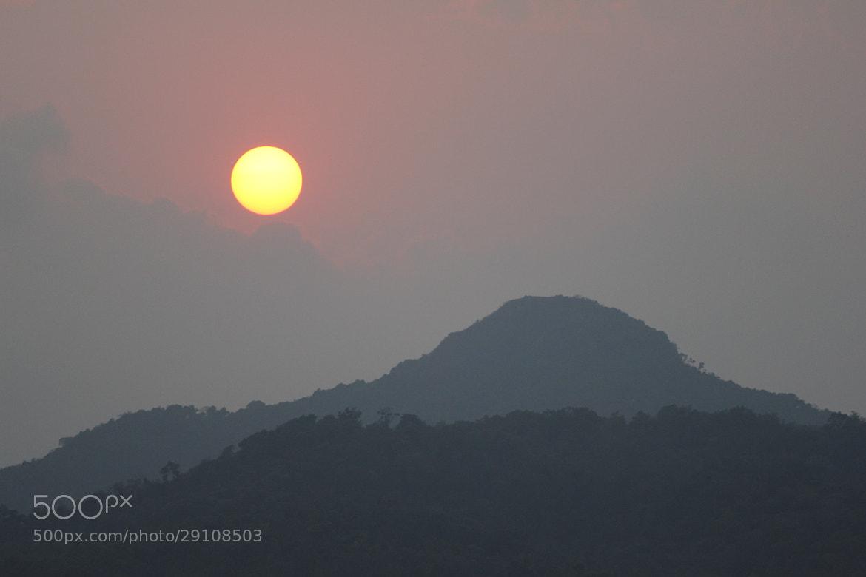 Photograph Sun set .. Again Sakleshpur by Sharath Ravindranath on 500px
