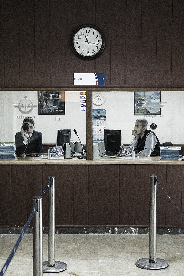 Photograph Railway Ticket Office by Andrew Barrow ARPS on 500px