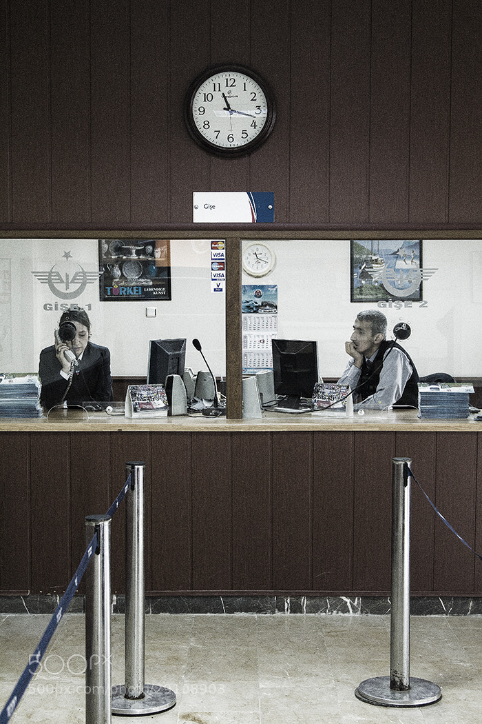 Photograph Railway Ticket Office by Andrew Barrow LRPS on 500px