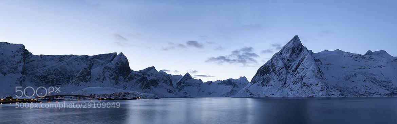 Photograph Lofoten by Moonlight by Daniel Hannabuss on 500px