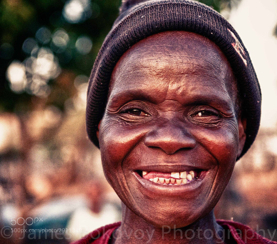 A sweet lady in Zimbabwe stopped my as I walked down a street and requested that I take her photograph. Good times!