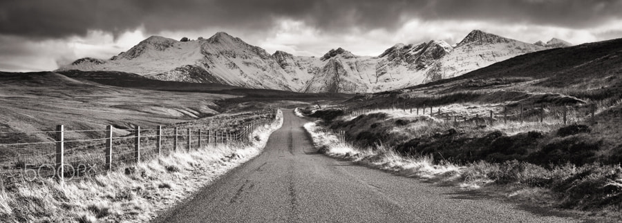 Photograph Glenbrittle Road by Graeme Kelly on 500px