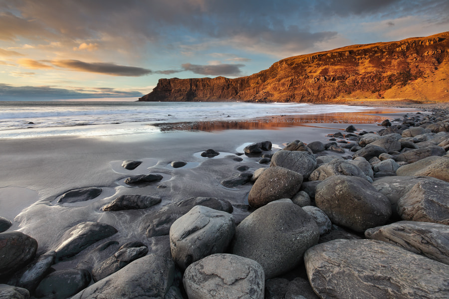 Photograph Talisker Bay by Graeme Kelly on 500px