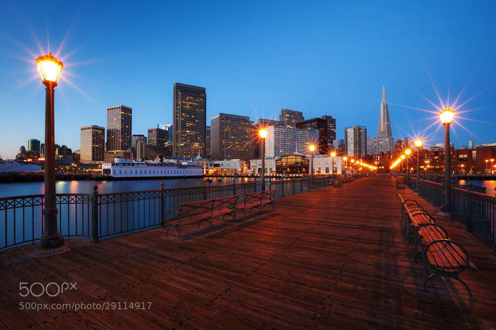 Photograph Boardwalk Blues by Lukas Wenger on 500px