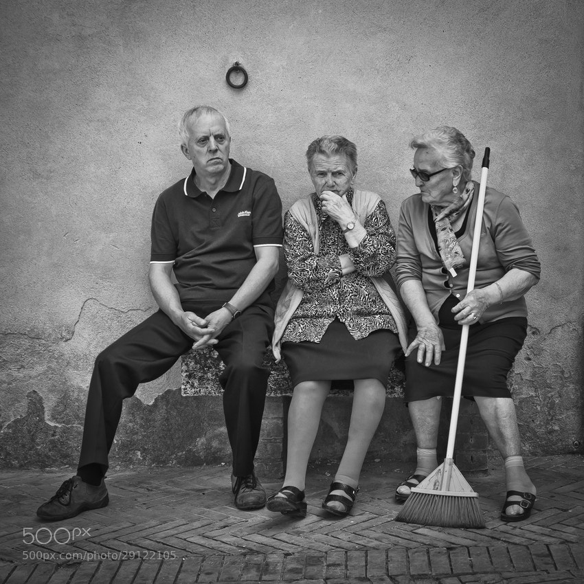 Photograph conversation with a broom by Artur Stefanowski on 500px