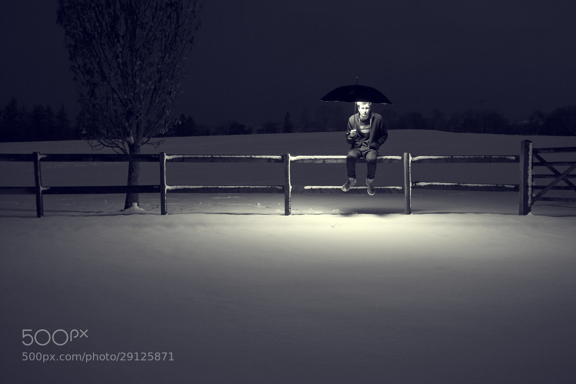Photograph Snow Illumination  by Alex Mourant LRPS on 500px