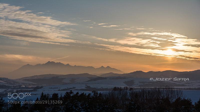 Photograph high tatra sunset  by Jozef Šifra on 500px