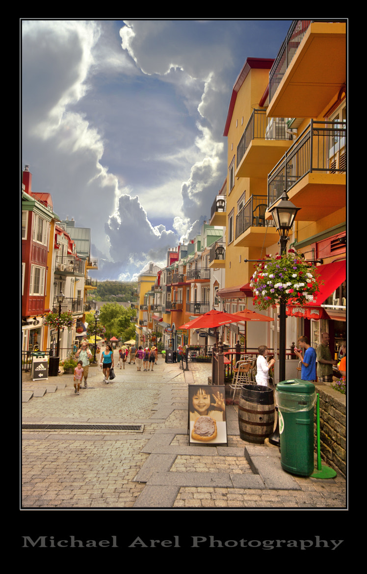 Photograph Mont-Tremblant village by Michael Arel on 500px
