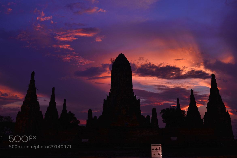 Photograph Wat Chaiwattanaram Temple, Ayutthaya,  by Prite Ser on 500px