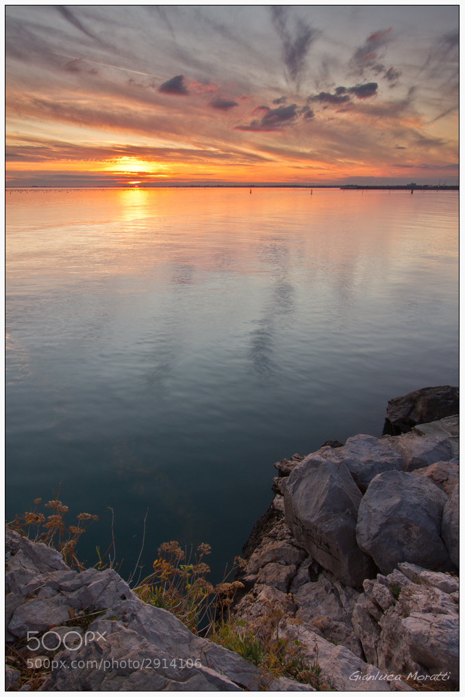 Photograph Duino sunset by Gianluca Moratti on 500px