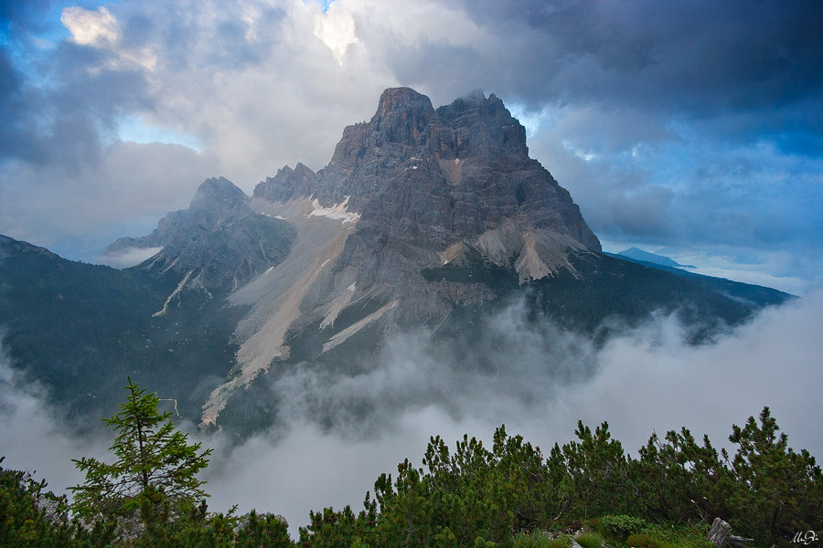 Photograph Clouds Around Mt. Pelmo by Marco Dian on 500px