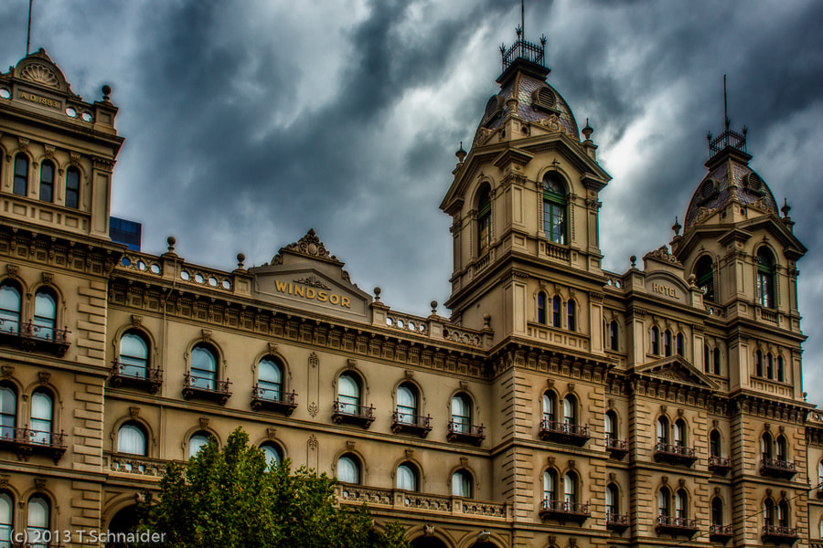 Photograph Windsor Hotel by tschnaider on 500px