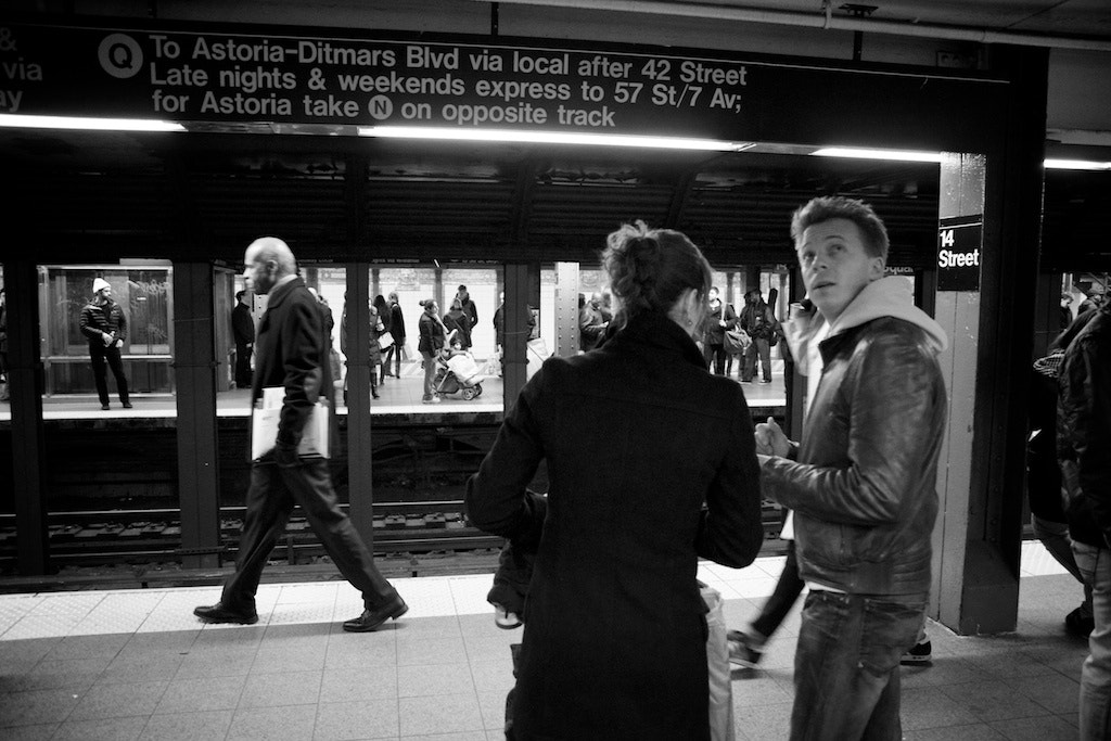 Photograph Subway, Union Square by Alex Fitzpatrick on 500px
