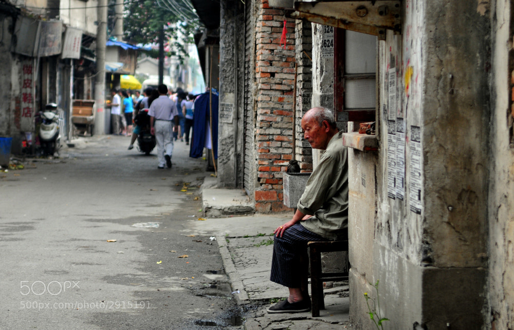 Photograph Demolition-Oldman by luke luo on 500px