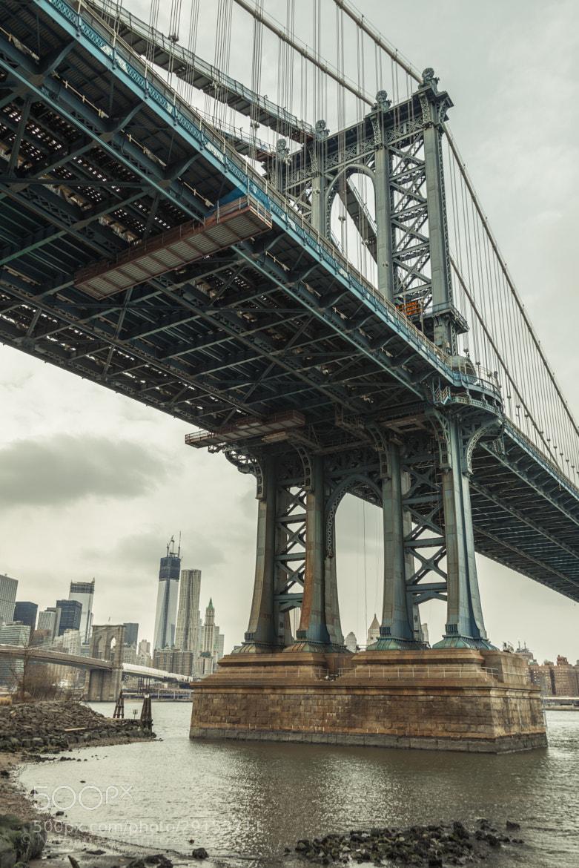 Photograph Manhattan Bridge - NYC, NY by Nathan Camarillo on 500px