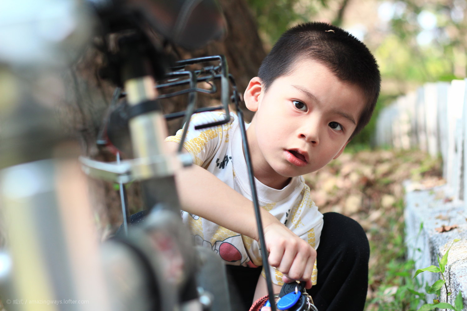 Photograph  How curious can one guy be?#March 09# Kid handle ... by William C. on 500px