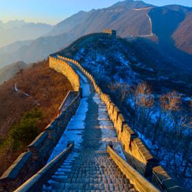 Great Wall of China by Kamal Zharif Kamaludin on 500px.com
