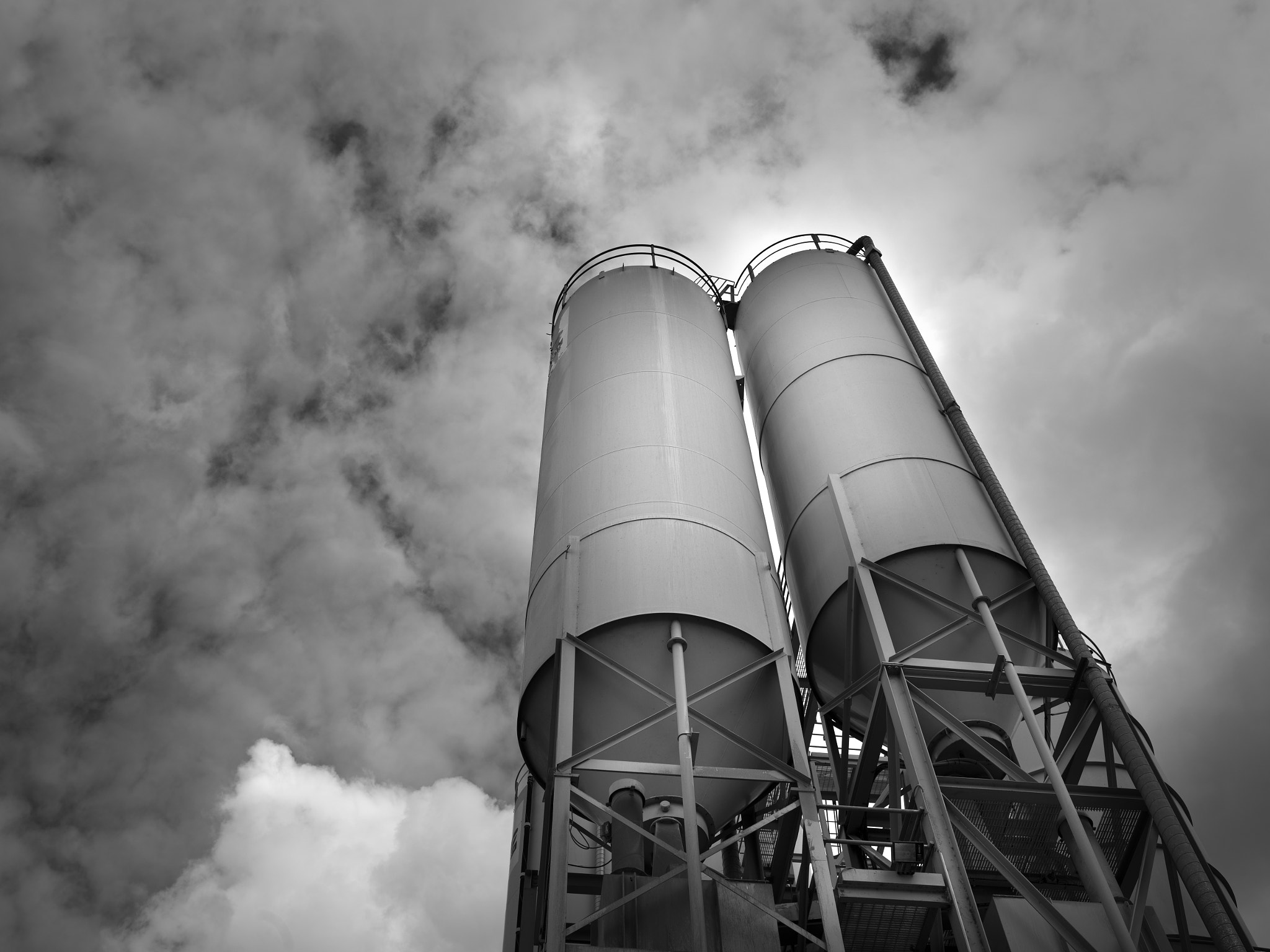 Photograph Concrete Plant, Australia by Antonio Ranieri on 500px