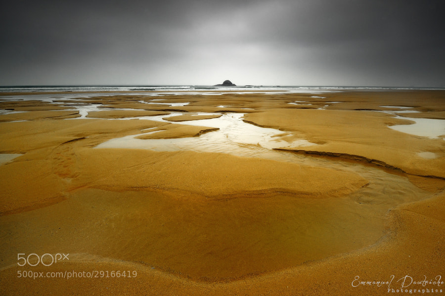 Photograph Golden sand by Emmanuel Dautriche on 500px