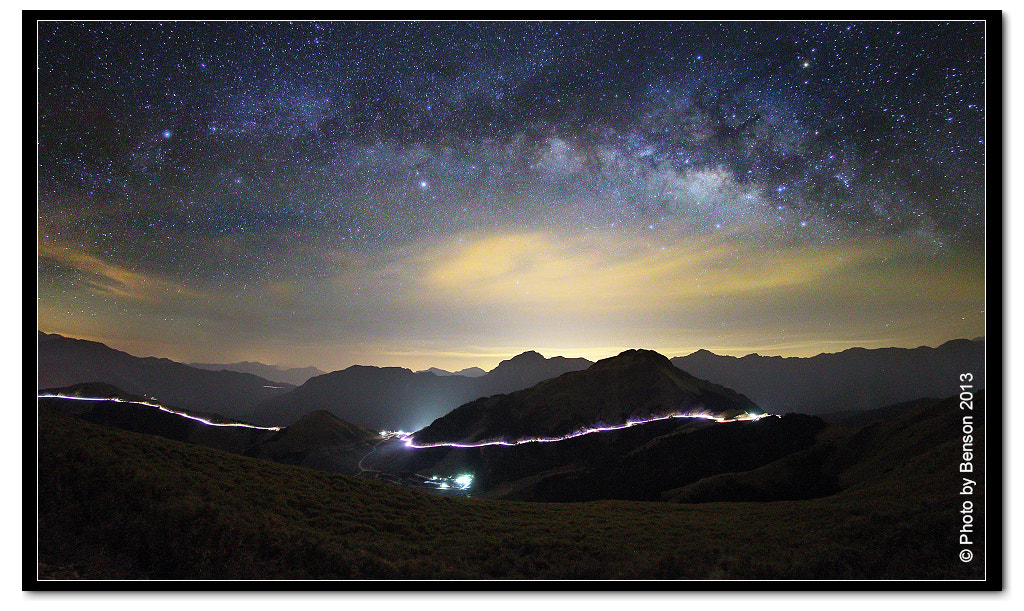 Photograph Galaxy train by benson lin on 500px