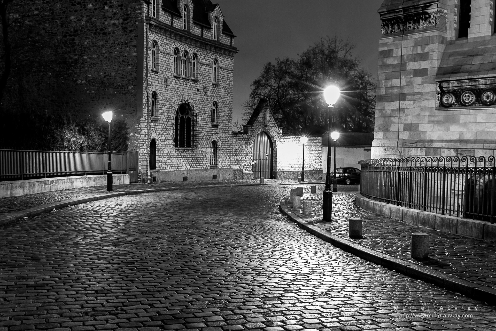 Photograph Montmartre la nuit by Muriel Auvray on 500px