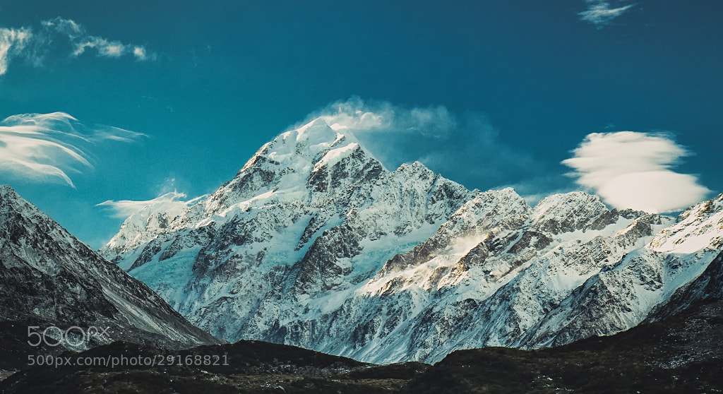 Photograph Mighty Aoraki by Sebastian  Warneke  on 500px